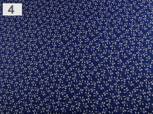 látka listy 100%bavlna,šíře 140cm,115g/m2