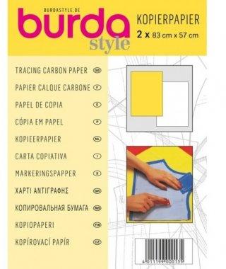 kopírovací papír žlutý 1ks+ bílý 1ks 83x57cm
