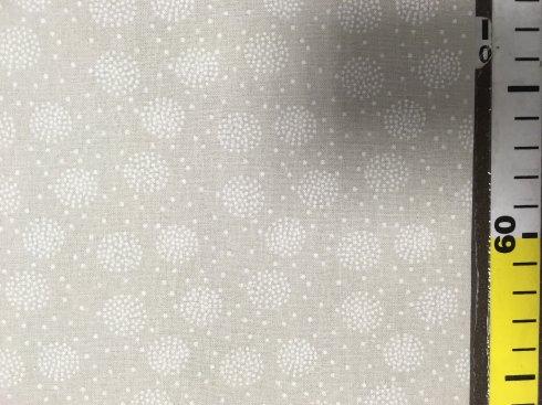 látka béžová š.150/100%bavlna