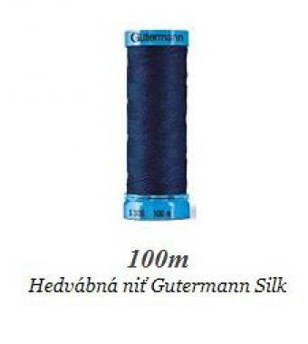 niť Gütermann pravé hedvábí 100m