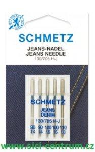 jehla Schmetz 705H/MIX 5ks Jeans