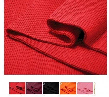 náplety 80x16cm, 80%ba/20%lycra různé barvy