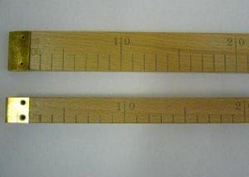 metr dřevěný placatý cejchovaný rok 2020-