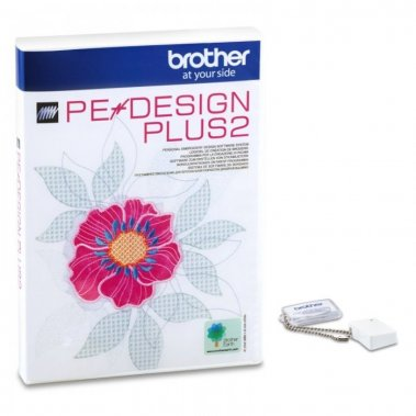 vyšívací software Brother Pe-Design Plus 2