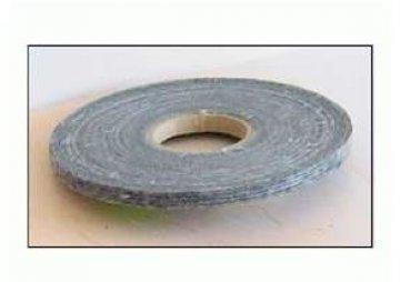 osnovní zažehlovací pásek černý 15mm. perforovaný