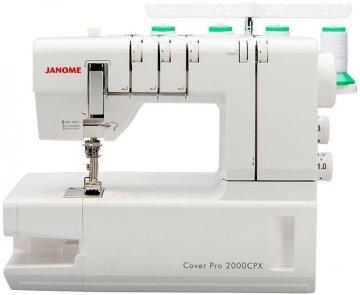 coverlock Janome 2000 CPX COVER PRO + dárek