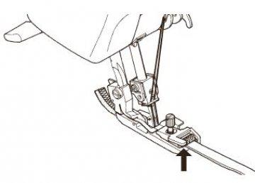 patka na řasení gumy-Zetina 4150