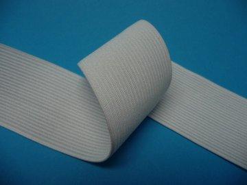 guma prádlová šíře 40mm režná bílá