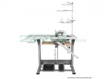 průmyslový overlock ZOJE ZJ880-4-181-BD - zatahování řetízku