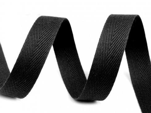 tkaloun kepr*šíře 10mm černá
