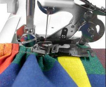 patka plisovací - řasící nástavec Brother F051