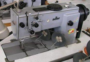 průmyslový stroj s trojím podáváním Dürkopp-Adler 867,s elektronickým motorem a ovládáním