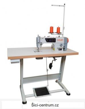 průmyslový šicí stroj s vázaným stehem Siruba L818D-M1 - komplet