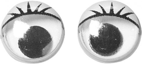 oči kulaté k nalepení 10mm 14ks