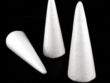 polystyrénový kužel 7x18cm