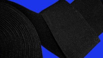guma prádlová šíře 35mm režná černá