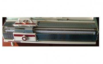 pletací stroj dvojlůžkový NOVAKNIT-Brother KH-160 + KR-160  s intarsia funkcemi, 168jehel 6mm, síla příze 2-4,5