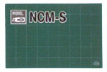 podložka na PATCHWORK - Zelená podložka 450 x 300 x 3 mm, pěticentimetrová měřicí mřížka na jedné straně - OLFA