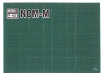 podložka na PATCHWORK - Zelená podložka 620 x 450 x 3 mm, pěticentimetrová měřicí mřížka na jedné straně NCM-M-RC/OLFA