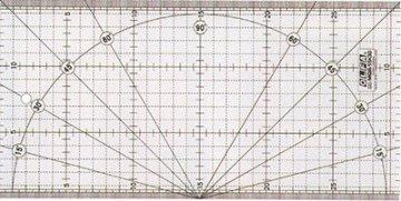 patchworkové pravítko 15x30cm Olfa