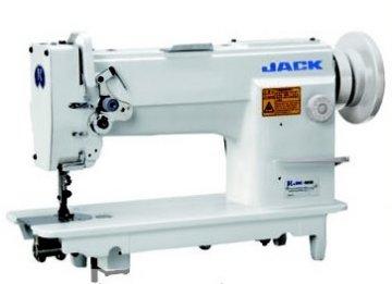 průmyslový šicí stroj Jack 3-té podávání kůže