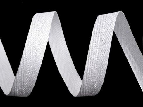 tkaloun*keprovka barva bílá   8mm