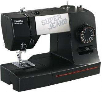 šicí stroj Toyota Super Jeans 15 černá