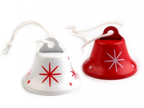 zvonečky 24x30mm mix v bal.2ks