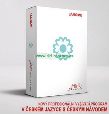 Rozšíření programu Janome Artistic Digitizer Junior na plnouverzi Janome Artistic Digitizer