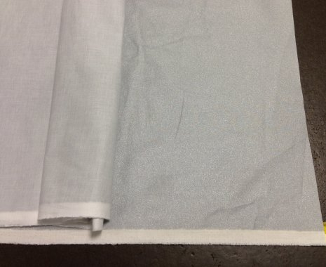 plátno na žehlení 100%Bavlna + teflonová úprava Alutex šíře 140