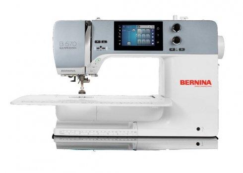 šicí stroj Bernina 570 QE VIO + záruka 5let