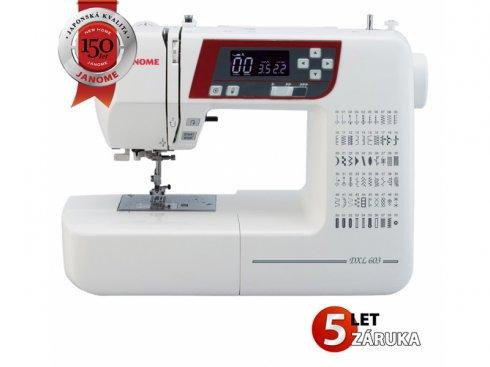 šicí stroj Janome 603 DXL (2160) + dárek