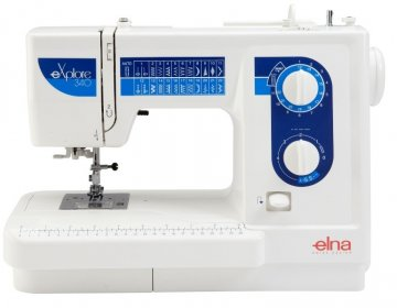 šicí stroj Elna eXplore 340  + sada kvalitních jehel Organ ZDARMA