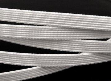 kostice tkaná 11mm bílá