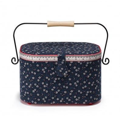 kožený kufr na patchwork bordo 22x16x16cm