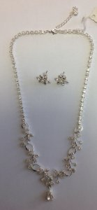 svateb.náhrdelník z šatonových růží