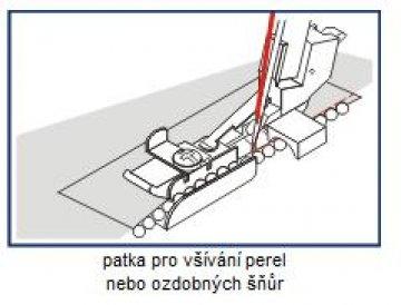patka pro všívání perel/ozdob