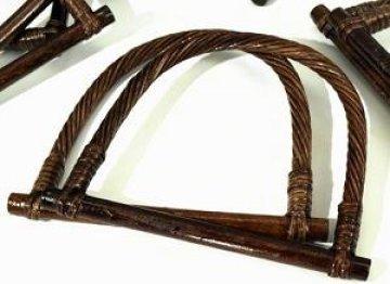 ucha na tašky bambusová 13x18cm