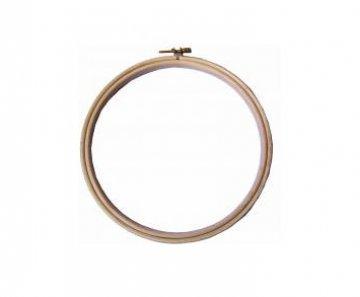 kroužek na vyšívání 12cm dřevěný