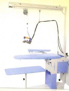 žehlící prkno BR/A SXD - vyhřívané s odsáváním 118x38x26cm