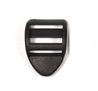 spona žebříček 30mm těžký černý UH
