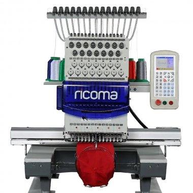 průmyslový vyšívací stroj RCM-1201TC / 12-ti jehlový, dotykový displej