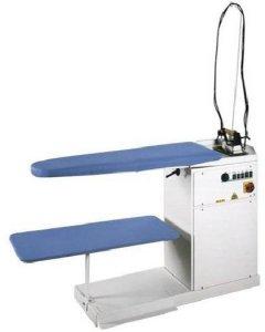 žehlící prkno FR/FC/PV + vyvíječ s pumpou 4Kw + rampa se závěsem žehliček