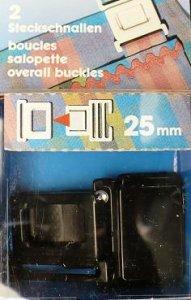 přezka dětská UH 25mm černá PRYM