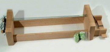 korálkový tkací rám dřevěný