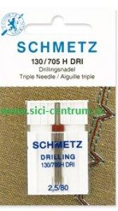 trojjehla Schmetz - 2,5mm/3x80