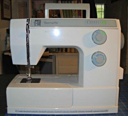 repasovaný šicí stroj Privileg 5400 - celokovový 17prog. včetně pružných